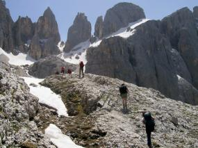 verso la forcella